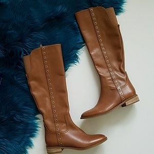 Michael Kors Tall Boots Brown Size 8 M